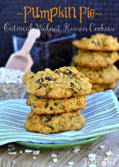 pumpkin-pie-oatmeal-walnut-raisin-cookies