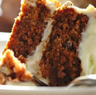 Blue Ribbon Carrot Cake with Buttermilk Glaze